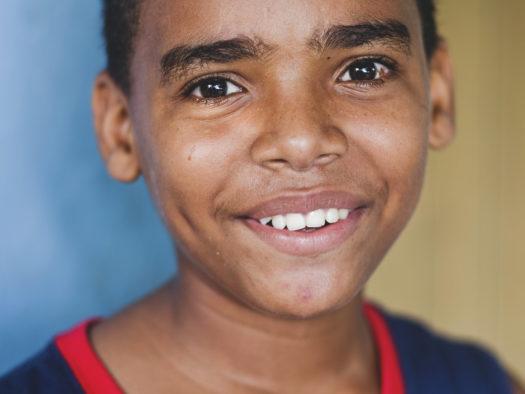 portret dziecięcy, Kubańczyk