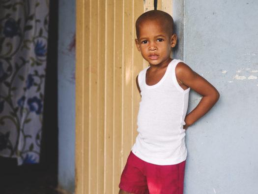portret podróżniczy, mały Kubańczyk, Guantanamo