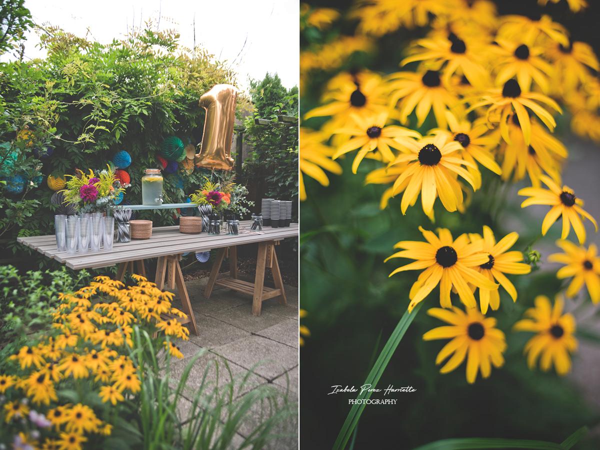 przyjęcie w ogrodzie, bufet, pierwsze urodziny, garden party,kids party, flowers, secret garden