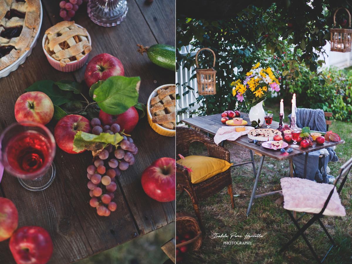 jesienne dary natury, jabłoń, w starym ogrodzie