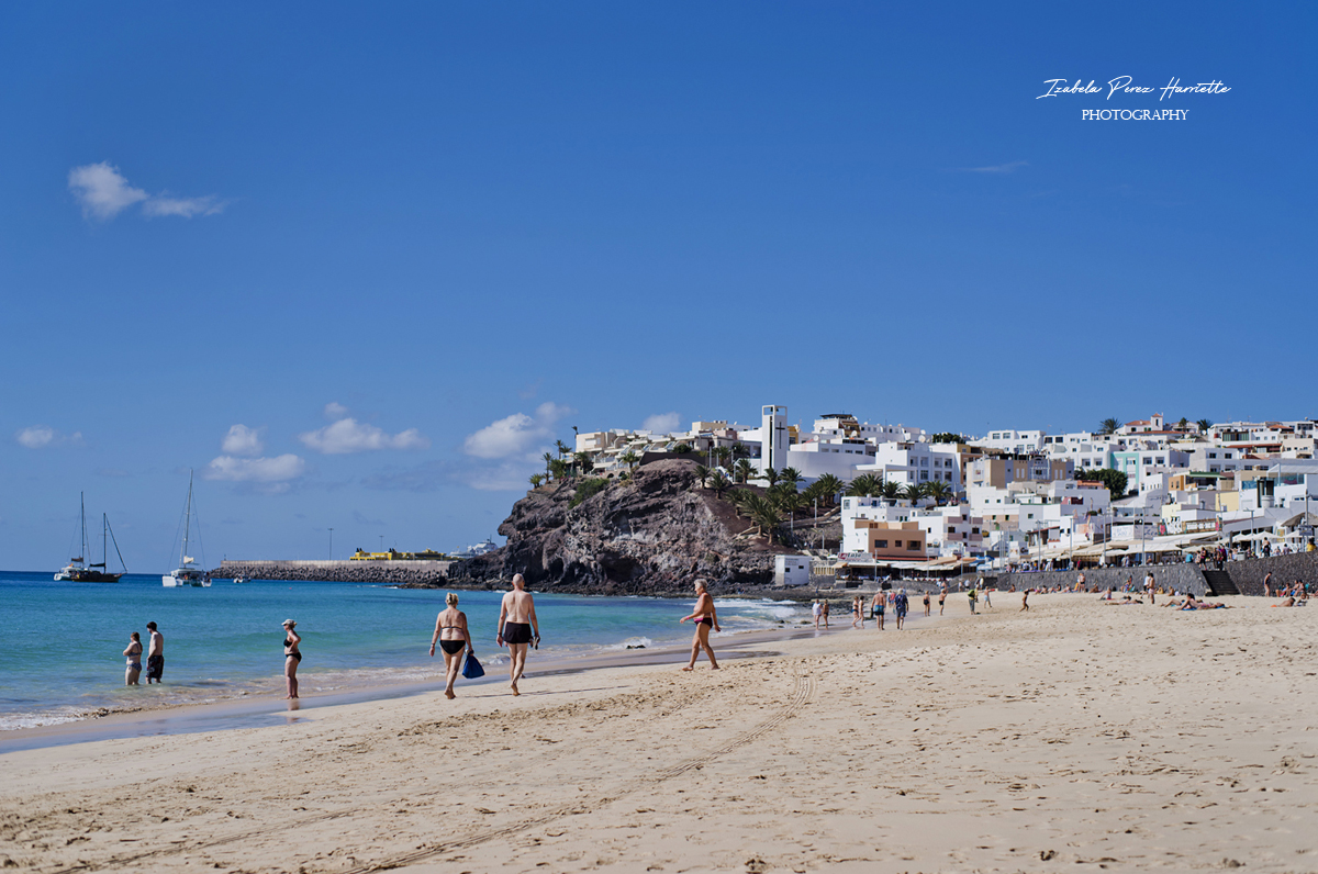 morro jable, plaża, Fuerteventura all inclusive