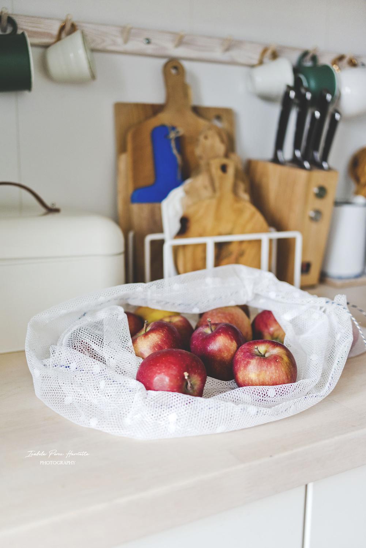 woreczek na warzywa, less waste, eko, kuchnia, IKEA,