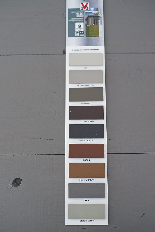 lazura do drewna 3v3 próbnik kolorów