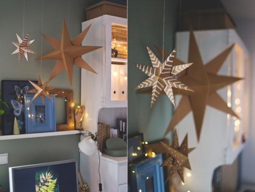 papierowa gwiazda , paper star, origami star, DIY star, Christmas star, świąteczne dekoracje, dekoracje zrób to sam, papierowa gwiazda, gwiazda origami, instrukcja krok po korku