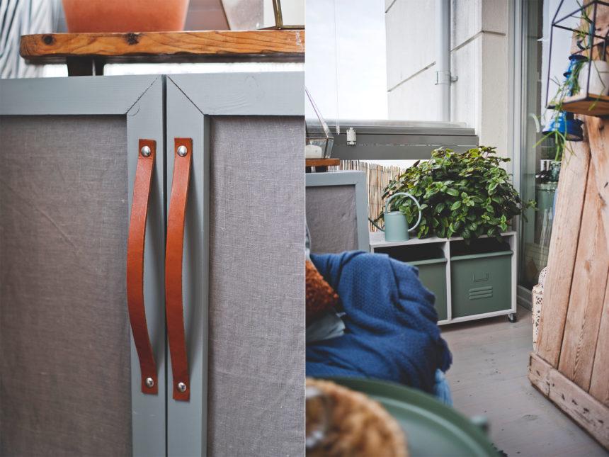 szafka ze sklejki, DIY, meble ze sklejki zrób to sam , meble na balkon